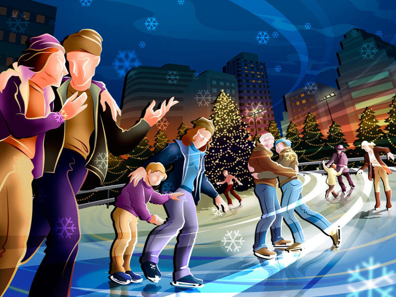 Командные игры и конкурсы на новогоднем празднике