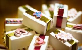 Поздравление на свадьбу с вручением шуточных подарков молодожёнам