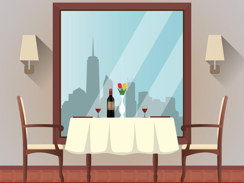 Командный квест в ресторане или кафе