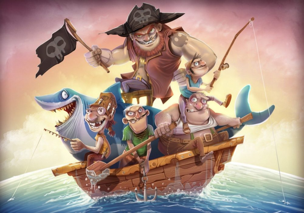 Пиратские командные квесты для детей и взрослых