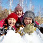 Зимний квест на улице для детей