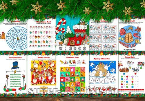 Christmas Quest — квест на английском языке на Рождество или Новый год