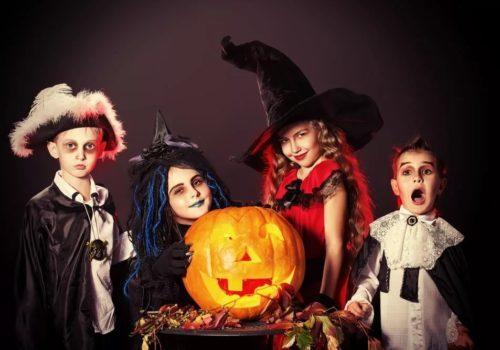 Квест на Хэллоуин для детей 9-13 лет