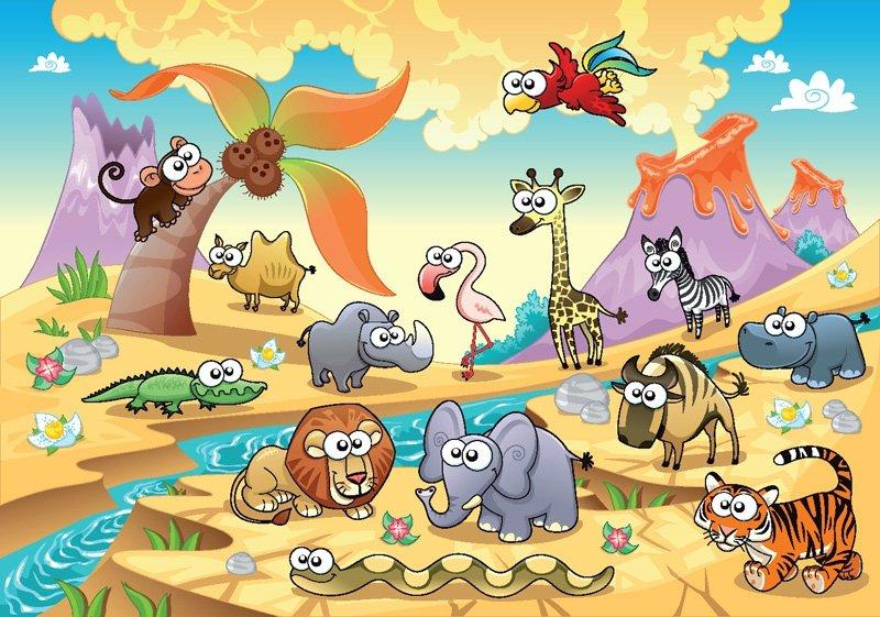 Загадки-обманки для детей про животных