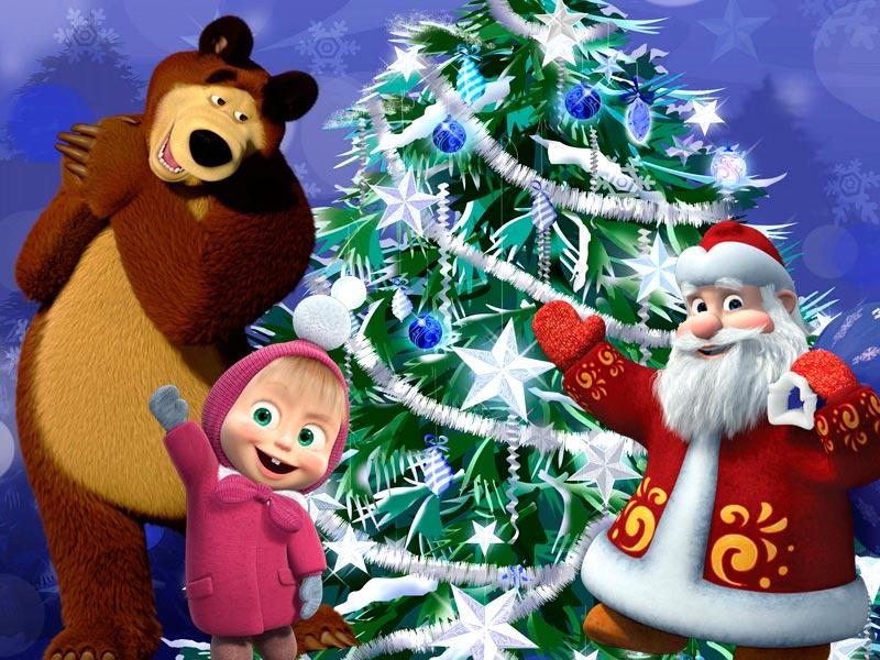 Новогодние детские кричалки и хлопалки